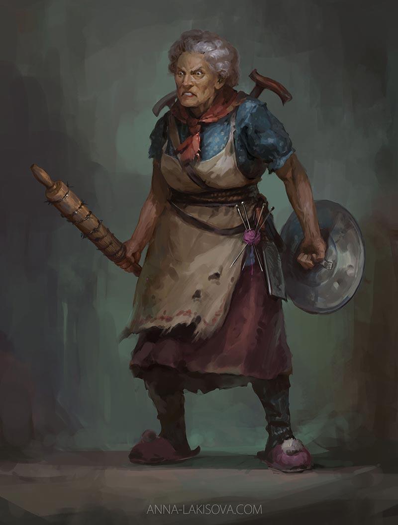 anna-lakisova-angry-old-woman-lakisova