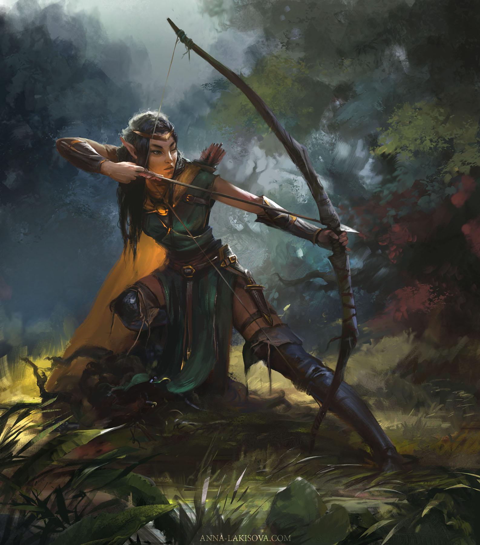 Archer Fantasy girl