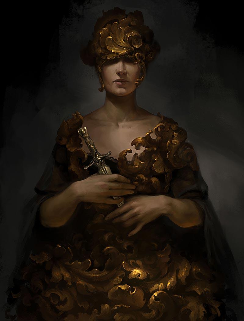 Baroque Original Character
